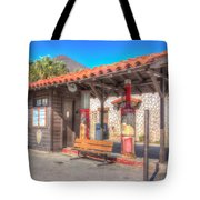 Antique Gas Station Tote Bag