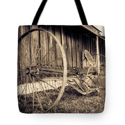 Antique Hay Rake Tote Bag