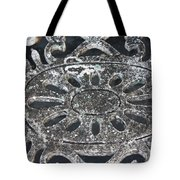 Antique In Black And Grey Tote Bag