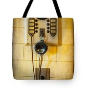 Antique Intercom Tote Bag