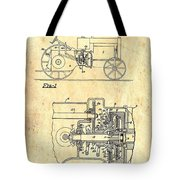 Antique Massey-ferguson Tractor Patent 1935 Tote Bag