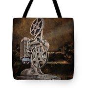 Antique Movie Projector Tote Bag
