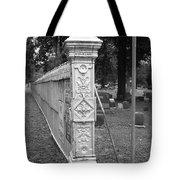 Antique Ornate Post Tote Bag