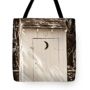 Antique Outhouse Tote Bag