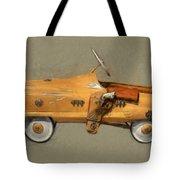 Antique Pedal Car L Tote Bag by Michelle Calkins