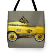 Antique Pedal Car Lll Tote Bag by Michelle Calkins