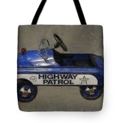 Antique Pedal Car V Tote Bag by Michelle Calkins