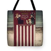 Antique Punch And Judy Tote Bag