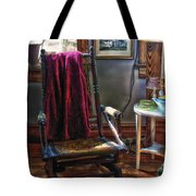 Antique Rocking Chair Tote Bag
