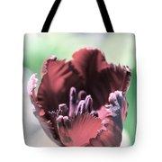 Antique Ruby Tulip Tote Bag