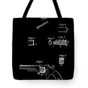 Antique Smith And Wesson Patent For A Metallic Cartridge 1860 Tote Bag