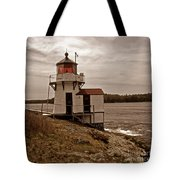 Antique Squirrel Point Tote Bag by Skip Willits