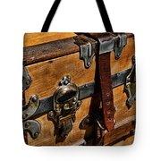Antique Steamer Truck Detail Tote Bag by Paul Ward