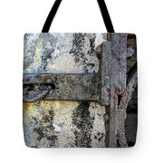 Antique Textured Metalwork Gate Tote Bag