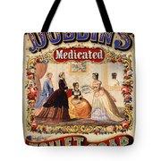 Antique Toilet Soap Ad - 1868 Tote Bag