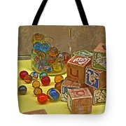 Antique Toys Tote Bag