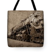 Antique Train Tote Bag