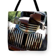 Antique Chevy Truck Tote Bag