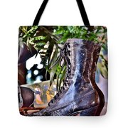Antique Victorian Boots At The Boardwalk Plaza Hotel - Rehoboth Beach Delaware Tote Bag