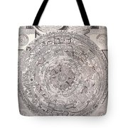 Antique Vintage Map With Elements Beautiful Tote Bag