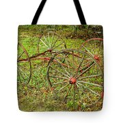 Antique Wagon Frame Tote Bag