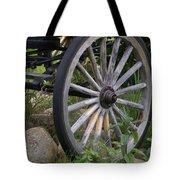 Antique Wagon Wheel  Tote Bag