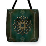 Antique Wall Mural Tote Bag