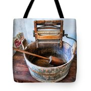 Antique Washing Machine Tote Bag