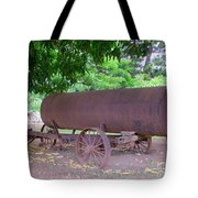 Antique Water Tank - No 2 Tote Bag