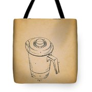 Antique Westinghouse Coffee Maker Patent 1964 Tote Bag