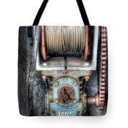 Antique Winch Tote Bag
