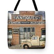Antiques Blacksmith And Horseshoer Tote Bag