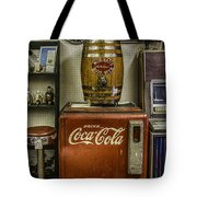 Antiques - Murray's Root Beer And Coca Cola Tote Bag