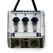 Antiques On The Square Tote Bag