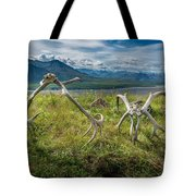 Antlers On The Hill Tote Bag