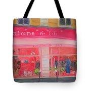 Antoine & Lili, 2010 Oil On Canvas Tote Bag