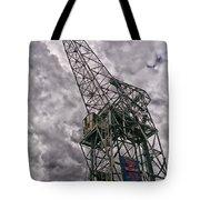 Antwerp Crane Tote Bag