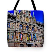 Antwerp's City Hall Tote Bag