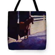 Anxious To Run Tote Bag