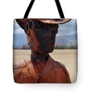 Anza Borrego Cowboy Tote Bag