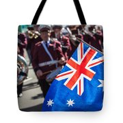 Anzac Day In Perth  Tote Bag