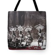 Apache Crown Dancers Date And Location Unknown 2013 Tote Bag