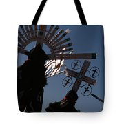 Apache Dancers Tote Bag