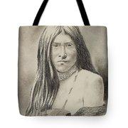 Apache Girl 1906 Tote Bag