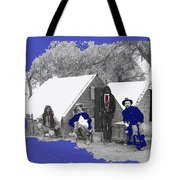 Apache Scouts Soldiers Living Quarters Location And Date Unknown  Tote Bag