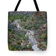 Apache Trail River View Tote Bag