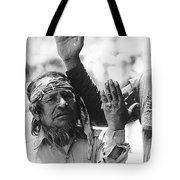 Apache's Signing 100th Anniversary Fort Apache Arizona 1970 Tote Bag