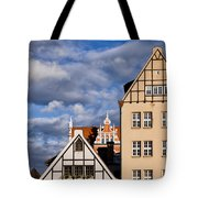 Apartment Houses In Gdansk Tote Bag
