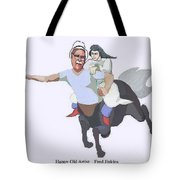 Aphrodite And Centaur Tote Bag
