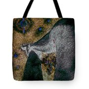 Aphrodite Holds Council With The Pleiades Tote Bag by Nova Cynthia Barker